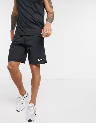 Nike Training Flex 3.0 woven shorts in black