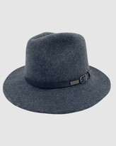 Thumbnail for your product : Jacaru - Grey Hats - Jacaru 1849 Wool Traveller Hat - Size One Size, XXL at The Iconic