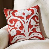Caicos Floral Embroidered Pillow