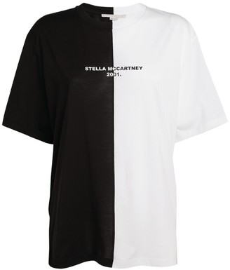 Stella McCartney Contrast Logo T-Shirt