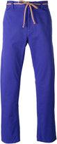 Marc Jacobs tie waist straight leg trousers