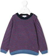 Knot striped jumper