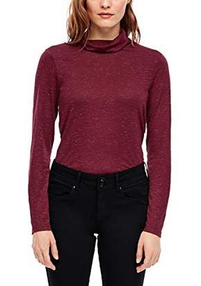 S'Oliver Women's 05.912.31.6843 Long Sleeve Top,10 (Size: )