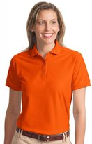 Port Authority Ladies Silk Touch Polo.