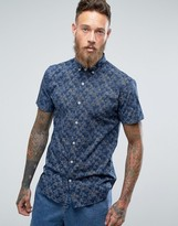 Lindbergh Short Sleeve Shirt In All Over Print