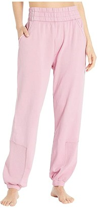 Fp Movement FP Movement Slouch It Joggers (Pink) Women's Casual Pants