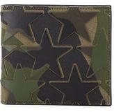 Valentino Camo-Print Stars Bi-Fold Wallet