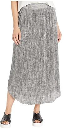 Tribal Lined Long Skirt (Grey Mix) Women's Skirt