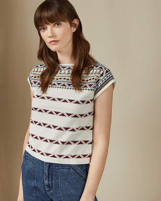 Ted Baker CENNA Azec lightweight knit top