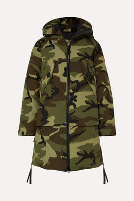 Canada Goose Olympia Camouflage-print Shell Down Parka - Green