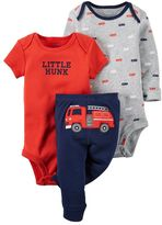 Carter's Baby Boy Graphic Bodysuit & Pants Set