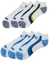 Puma 6-Pack Low Cut Stripe Socks