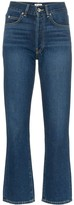 Eve Denim Jane cropped flared jeans