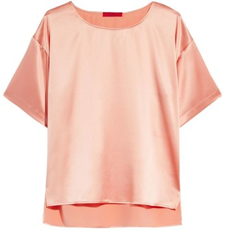 Max & Co. Silk Short-Sleeved Blouse
