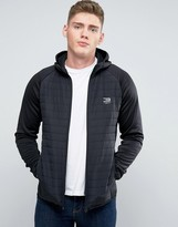 Jack and Jones Hybrid Hoodie With Quilting
