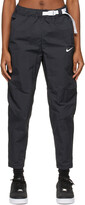 Thumbnail for your product : Nike Black Sportswear Tech Pack Woven Lounge Pants