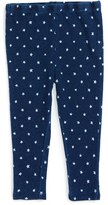 Splendid Infant Girl's 'Indigo' Print Leggings