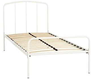 little home at John Lewis Alpha Metal Bed Frame, Single