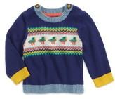 Toddler Boy's Mini Boden Fun Knit Sweater