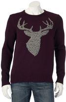 Men's Urban Pipeline® Stag Head Crew Sweater