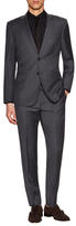 English Laundry Sharkskin Wool Notch Lapel Suit