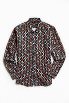 Poler Bear Paw Print Corduroy Button-Down Shirt