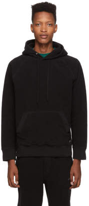Saturdays NYC Black Reverse Fleece Ditch Hoodie