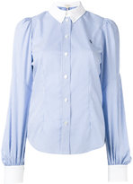 Marc Jacobs bishop sleeve button down shirt