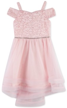 Speechless Toddler Girls Off-The-Shoulder Lace Dress