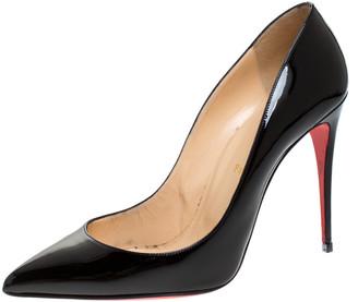 Christian Louboutin Black Patent Leather Pigalle Follies Pumps Size 41.5