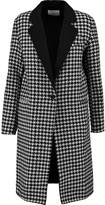 Sandro Morane houndstooth wool-blend coat
