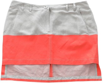 Sass & Bide Multicolour Linen Skirts