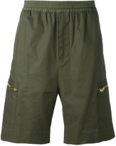 Les Hommes stretch waist shorts - men - Cotton/Spandex/Elastane - 46