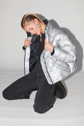 Nike Metallic Synthetic Down Coat