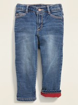 Old Navy Micro Performance Fleece-Lined Boyfriend Jeans for Toddler Girls