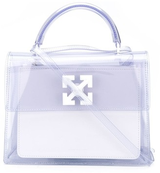 Off-White Jitney 2.8 arrows print satchel bag