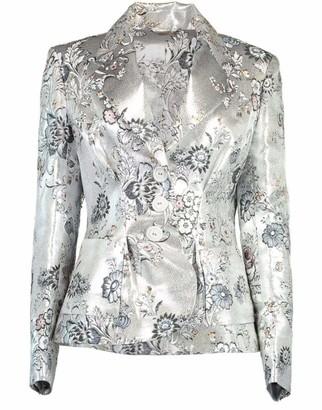 Erdem Ernest Floral Jacquard Jacket