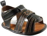 Luvable Friends Boy's Casual Sandal T Strap Sandal