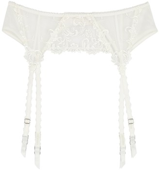 Wacoal Decadence embroidered suspender belt