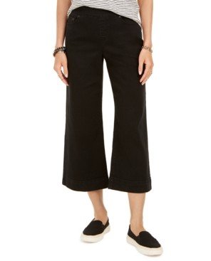 Style&Co. Style & Co Wide-Leg Cropped Jeans, Created for Macy's