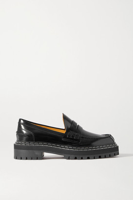 Proenza Schouler Leather Loafers - Black