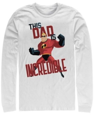 Disney Men's The Incredibles This Dad, Long Sleeve T-Shirt