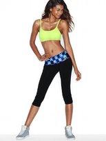 Victoria's Secret PINK Bling Foldover Yoga Crop Legging