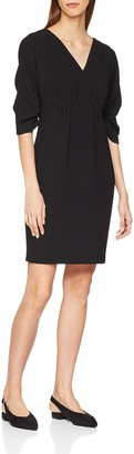 Hoss Intropia Women's P796VES06074600 Dress Black (Negro 600) 8 (Size:36)