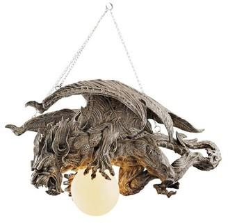 Toscano Design Nightfall Sculptural Gargoyle 1-Light Novelty Pendant Design