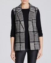 Theory Eldora Plaid Vest