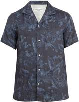 Officine Generale Dario printed short-sleeved shirt