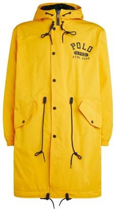 Ralph Lauren Logo Raincoat