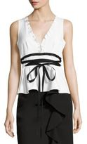 Nanette Lepore Solid Sleeveless Top
