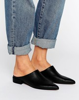 Asos MADRID Premium Leather Mule